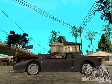 Ferrari TestaRossa Bustard Tuning для GTA San Andreas вид слева