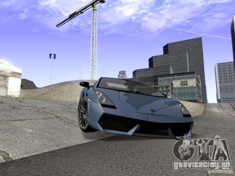 LibertySun Graphics For LowPC для GTA San Andreas пятый скриншот