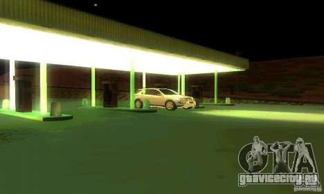 Mercedes-Benz ML500 для GTA San Andreas вид снизу
