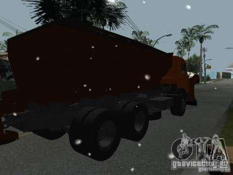 КамАЗ 53215 для GTA San Andreas вид слева