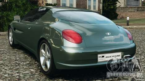 Daewoo Bucrane Concept 1995 для GTA 4 вид сзади слева