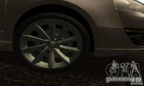 Volkswagen Passat для GTA San Andreas вид справа