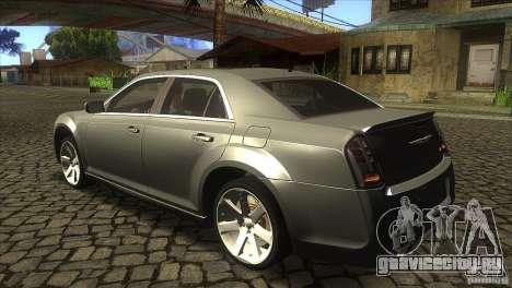 Chrysler 300 SRT-8 2011 V1.0 для GTA San Andreas вид сзади слева