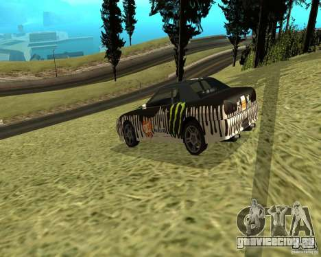 Monster Energy Vinyl для GTA San Andreas вид справа