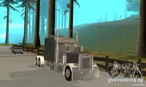 Peterbilt 379 Custom Legacy для GTA San Andreas вид слева