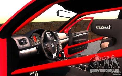 VolksWagen Golf GTI MK5 для GTA San Andreas вид сбоку