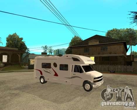 Chevrolet Camper для GTA San Andreas вид справа