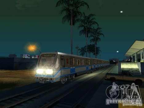 Новый Cигнал Поезда для GTA San Andreas третий скриншот