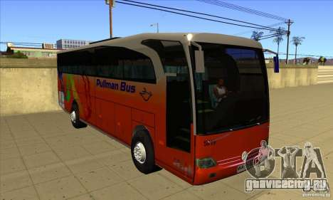 Mercedes-Benz Travego для GTA San Andreas вид сзади