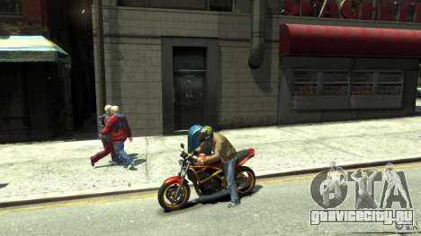 Energy Drink Helmets для GTA 4 шестой скриншот