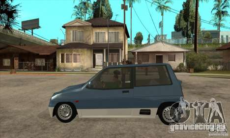 Suzuki Alto Works для GTA San Andreas вид слева