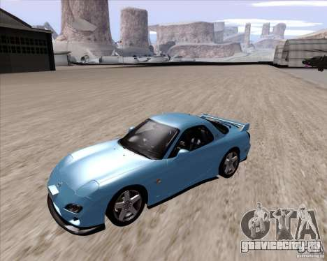 Mazda RX7 2002 FD3S SPIRIT-R (Type RS) для GTA San Andreas вид слева
