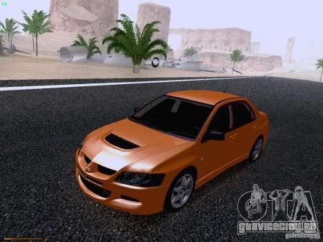 Mitsubishi Lancer Evolution VIII для GTA San Andreas