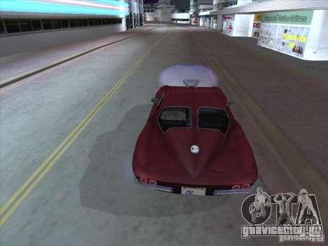 Chevrolet Corvette Big Muscle для GTA San Andreas вид справа