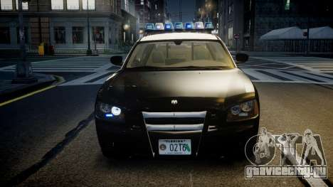 Dodge Charger Florida Highway Patrol [ELS] для GTA 4 вид сбоку