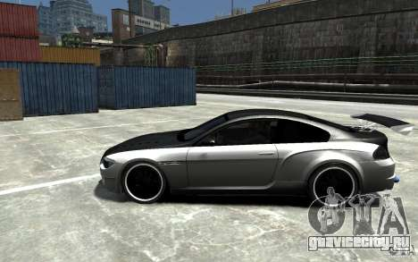 BMW M6 Tuning для GTA 4 вид слева