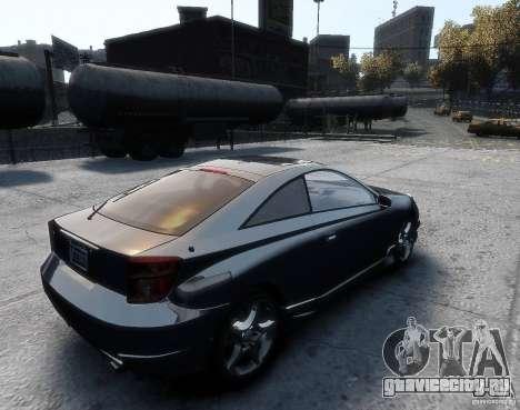 Toyota Celica для GTA 4 вид слева