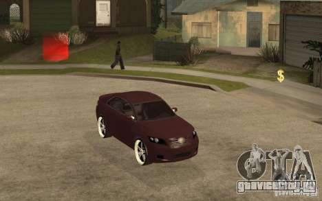 Toyota Camry 2010 для GTA San Andreas вид справа
