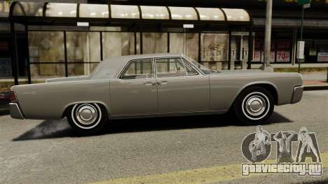 Lincoln Continental 1962 для GTA 4 вид слева