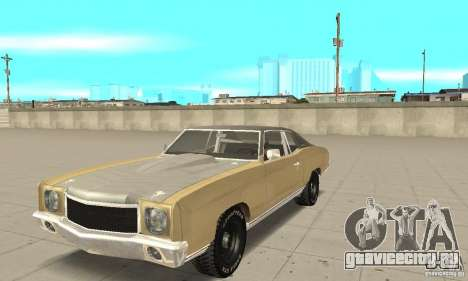 Chevy Monte Carlo [The Fast and the Furious 3-Tokyo Drift] для GTA San Andreas