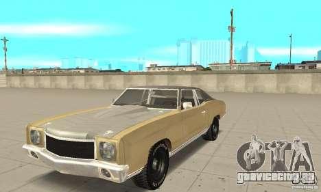 Chevy Monte Carlo [F&F3] для GTA San Andreas