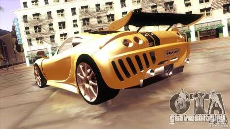 Ascari A10 для GTA San Andreas вид сзади слева