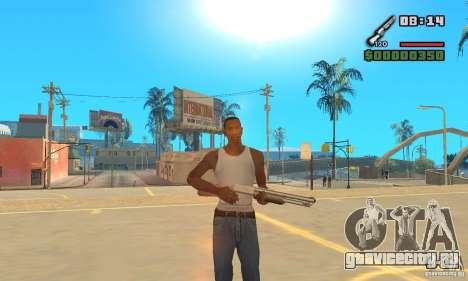 New Weapon Icon Pack для GTA San Andreas второй скриншот