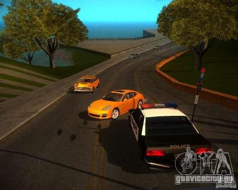 ENBSeries Realistic для GTA San Andreas второй скриншот