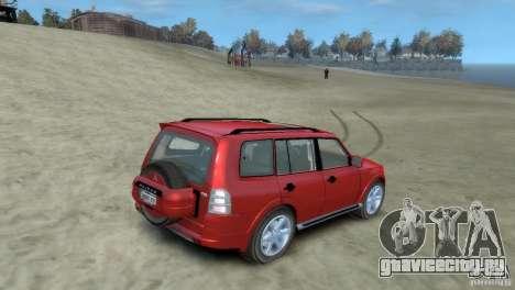Mitsubishi Pajero для GTA 4 вид слева