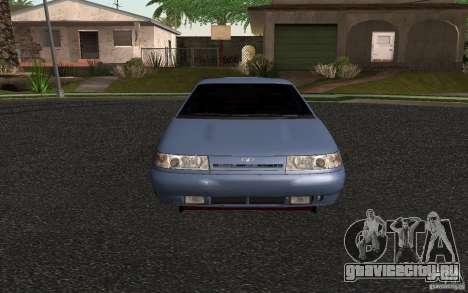 ВАЗ 2111 для GTA San Andreas вид сзади слева