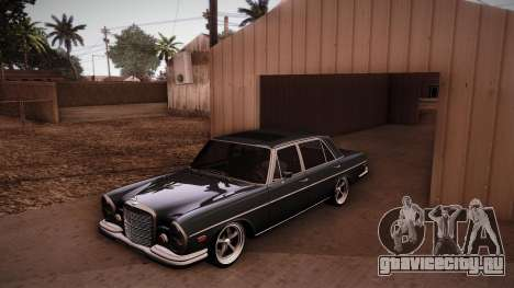 Mercedes Benz 300 SEL - Custom RC3D Edit для GTA San Andreas вид сбоку