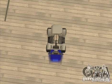 Forklift extreem v2 для GTA San Andreas вид сзади