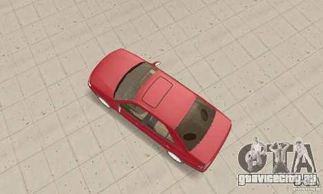 Peugeot 406 stock для GTA San Andreas вид справа