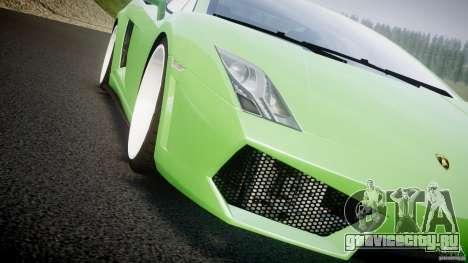 Lamborghini Gallardo LP 560-4 DUB Style для GTA 4 вид снизу