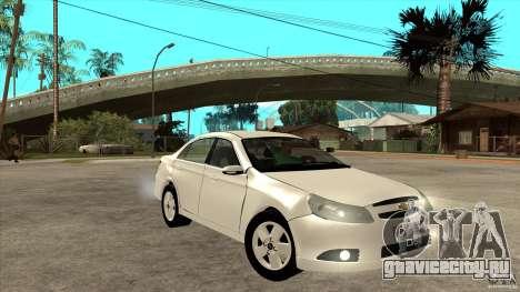 Chevrolet Epica 2008 для GTA San Andreas вид сзади