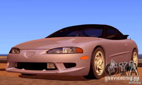 Eagle Talon TSi AWD 1998 для GTA San Andreas вид снизу