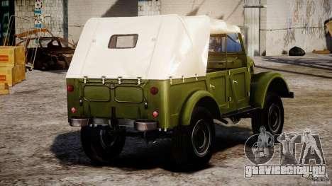 ГАЗ-69А 1965 для GTA 4 вид сбоку