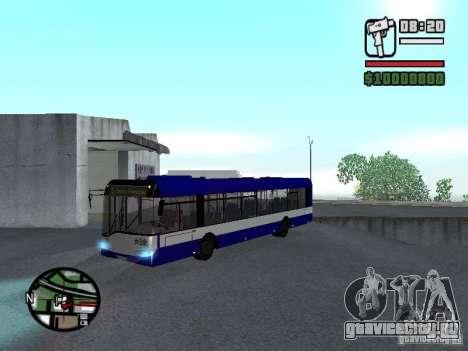 Solaris Urbino 12 для GTA San Andreas вид слева