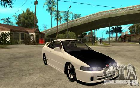 Honda Integra Spoon Version для GTA San Andreas вид сзади