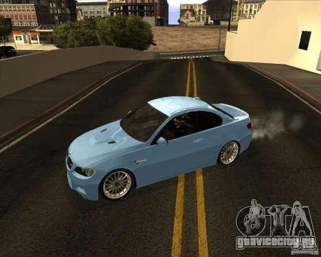 BMW M3 Convertible 2008 для GTA San Andreas