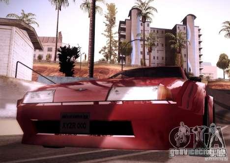 Elegy Wide Body для GTA San Andreas вид сзади