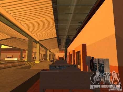 Unity Station для GTA San Andreas третий скриншот