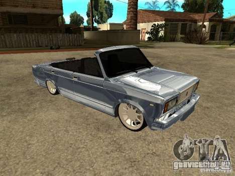 ВАЗ 2107 Convertible для GTA San Andreas