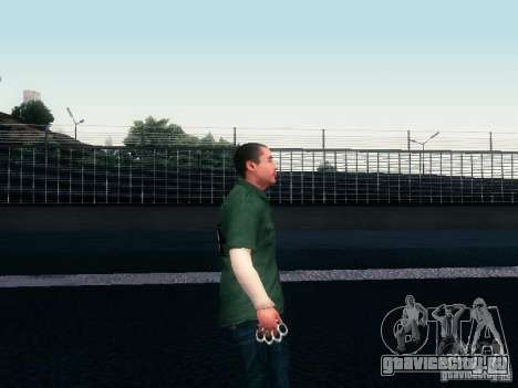 Race Ped Pack для GTA San Andreas шестой скриншот