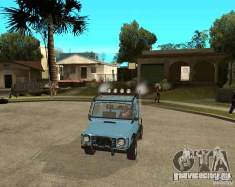 ЛуАЗ-969М Тюнинг для GTA San Andreas вид сзади