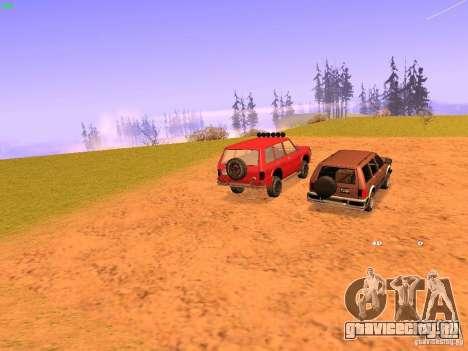 Huntley Superior для GTA San Andreas вид сзади слева