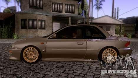 Subaru Impreza 22 для GTA San Andreas вид слева