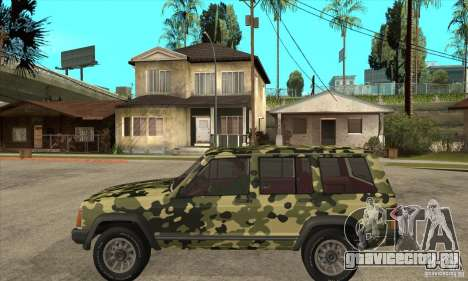 Jeep Cherokee 1984 для GTA San Andreas вид слева
