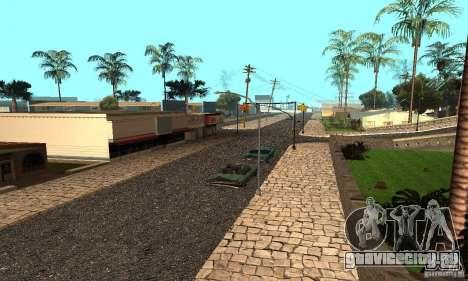 Grove Street для GTA San Andreas второй скриншот