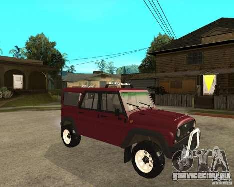 УАЗ 3159 Hunter (Хантер) для GTA San Andreas вид справа
